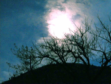 Lookout Mountain moon