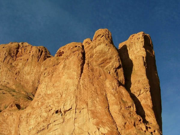 North Gateway Rock - Lyons sandstone in Garden of the Gods Park