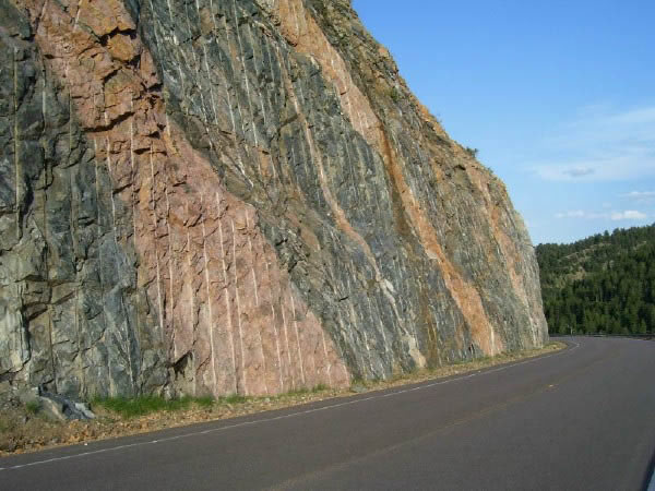 Injection gneiss along the Highway 40/Interstate 70 corridor
